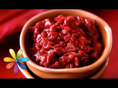 Удивите родных пряным и витаминным соусом из кизила! – Все буде добре. Выпуск 663 от 02.09.15