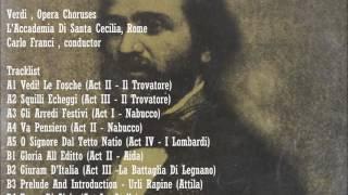 Verdi Opera Choruses Carlo Franci Cond