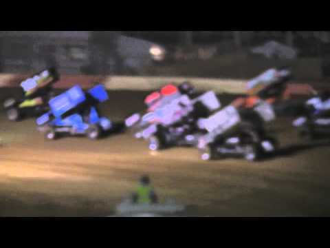 Trail-Way Speedway 358 Sprint Car Highlights 5-17-13