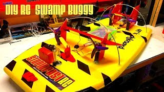 Best DIY RC Swamp Buggy Air Boat Build How to build