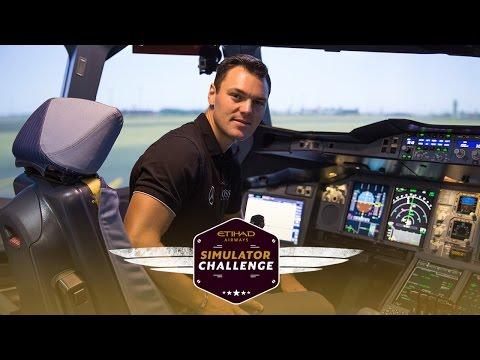 Martin Kaymer – Simulator Challenge - Etihad Airways
