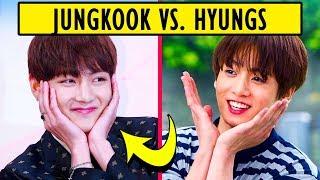 BTS Jungkook VS. Hyungs 😆