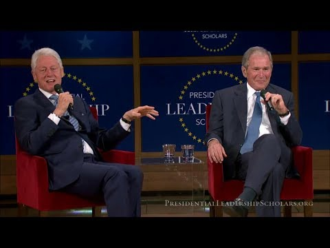 George W. Bush, Bill Clinton Conversation on Leadership From the George W. Bush Presidential Center