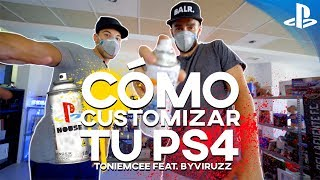 CÓMO PINTAR UNA PS4 (con ByViruZz) | #PlayStationHouse