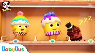 Naughty Cake, Hamburger Vending Machine | Ice Cream, Donuts Song | Baby Songs | BabyBus