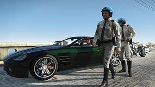 GTA 5 прохождение - Война с законом... (I fought the law) - HD 720p