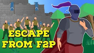 Escaping Free To Play Without Paying $11 - F2P Money Making While Leveling