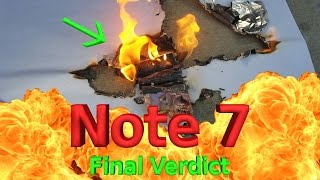 Samsungs Verdict on the Note 7 - What REALLY went wrong?
