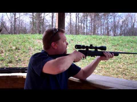 Shooting Savage Arms Model 93 .22 WMR