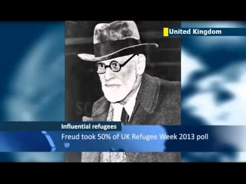 Jews top poll of Britain's most influential refugees: Sigmund Freud took over 50% of UK vote