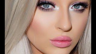 Barbie Inspired Makeup Tutorial | Pastel Eyes & Pink Lips