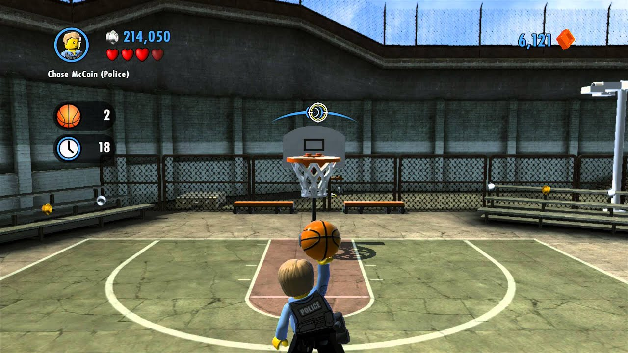 LEGO City Undercover - Chap 3: Chase Plays Basketball At ...