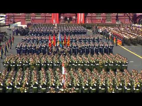 Victory Parade Moscow 9.05.2015 - Парад в честь 70 летия Победы на Красной площади в Москве.