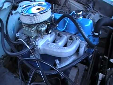 Ford 300 c.i.d. straight six rebuild