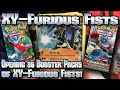 Pokémon XY: Furious Fists TCG Booster Box Opening!