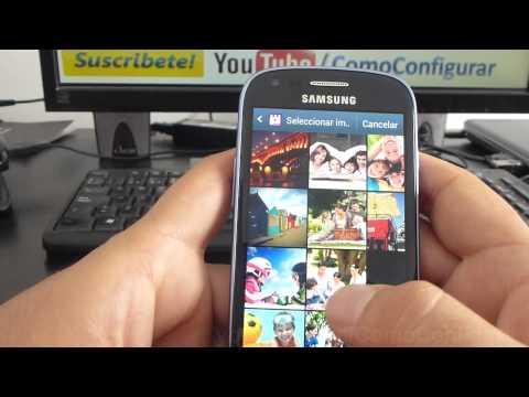 como cambiar el fondo de pantalla samsung galaxy s3 mini i8190 español Full HD