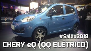 Chery eQ (QQ Elétrico) - Salão do Automóvel | Detalhes