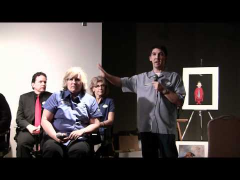 Universal Orlando art & design presentation at Orlando History Center