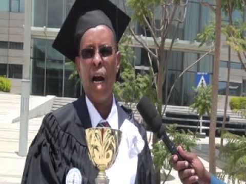 Xafladii qalinjabinta Jaamacadda New Generation University ee ka dhacaday xarunta midawga Africa