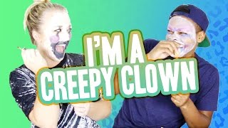 CREEPY CLOWN CHALLENGE W/ DANGMATTSMITH
