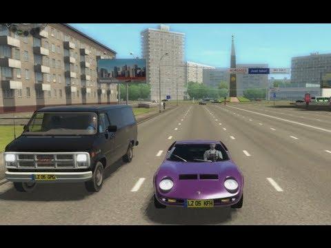 City Car Driving - Lamborghini Miura P400. review & commentary.