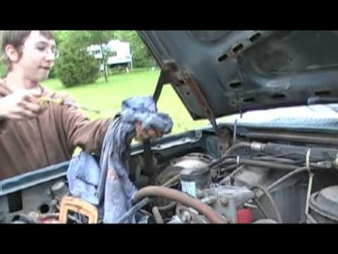 Oil Change Ford F250 Diesel 6.9L