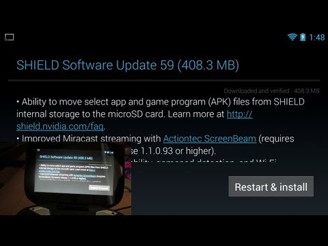 NVIDIA Shield Update (Move Apps to your Micro SD Card!)