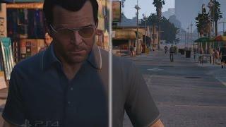 Grand Theft Auto V (GTA 5) — Сравнение версий для PS4 и PS3   ТРЕЙЛЕР