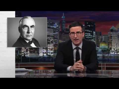 Last Week Tonight with John Oliver: Warren G. Harding's Love Letters (HBO)