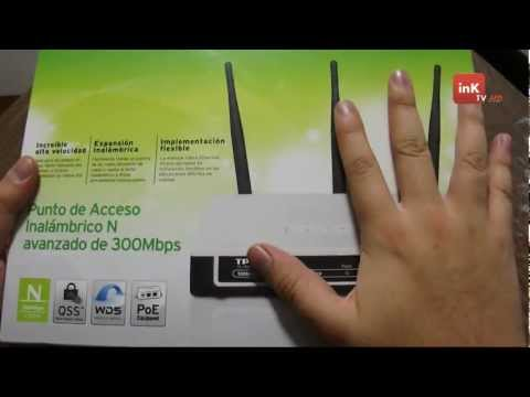 Zona Tek: TP-Link 300Mbps Wireless N Access Point  (Review) - inKTV HD