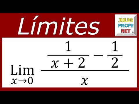 Limite de una función