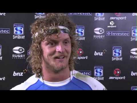 One of the best post match interviews ever with Nick Cummins on sky sport nz after the win against the Highlanders.