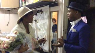 Backstage with Brandy Norwood at CHICAGO the Musical on Broadway