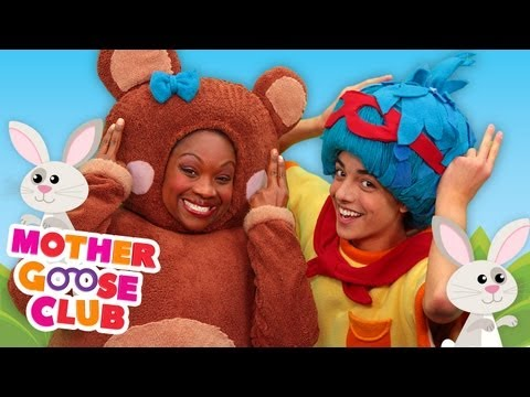 The Bunny Hop - Mother Goose Club Rhymes for Children klip izle