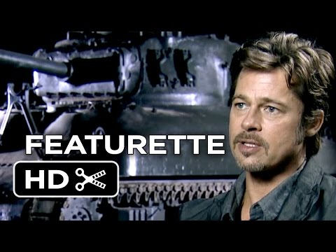 Fury Featurette - Heart and Soul (2014) - Brad Pitt, Logan Lerman War Movie HD