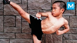 WAY of the Dragon - Ryusei Imai - Baby Bruce Lee | Muscle Madness