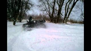 JAKE SNOWMOBILE ADAIR ARGO FRONTIER TRACKS.avi