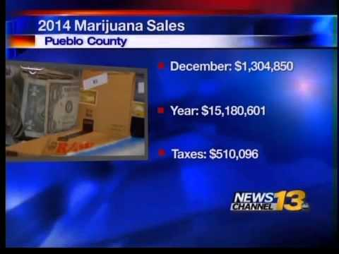 First year marijuana tax revenue numbers are in for Pueblo
