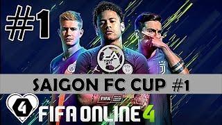 FIFA ONLINE 4: TRỰC TIẾP GIẢI ĐẤU SAIGONFC CUP #1 | NGÀY 1: Hoàng Hiệp Vs Hakumen & TH [13/06/2019]