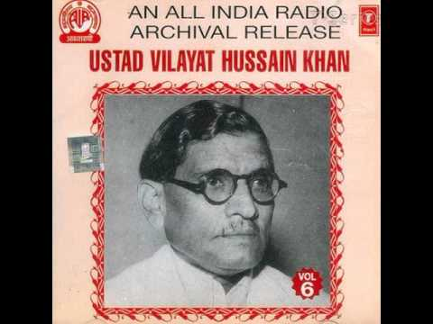 Vilayat Hussain Khan - Vilayat Hussain Khan - All India Radio Vol. 6 - Raag Paraj Kalingda