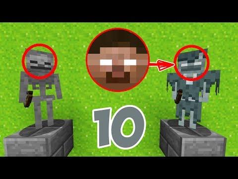 10 ФАКТОВ О СКЕЛЕТАХ В МАЙНКРАФТЕ | Minecraft ФАКТЫ