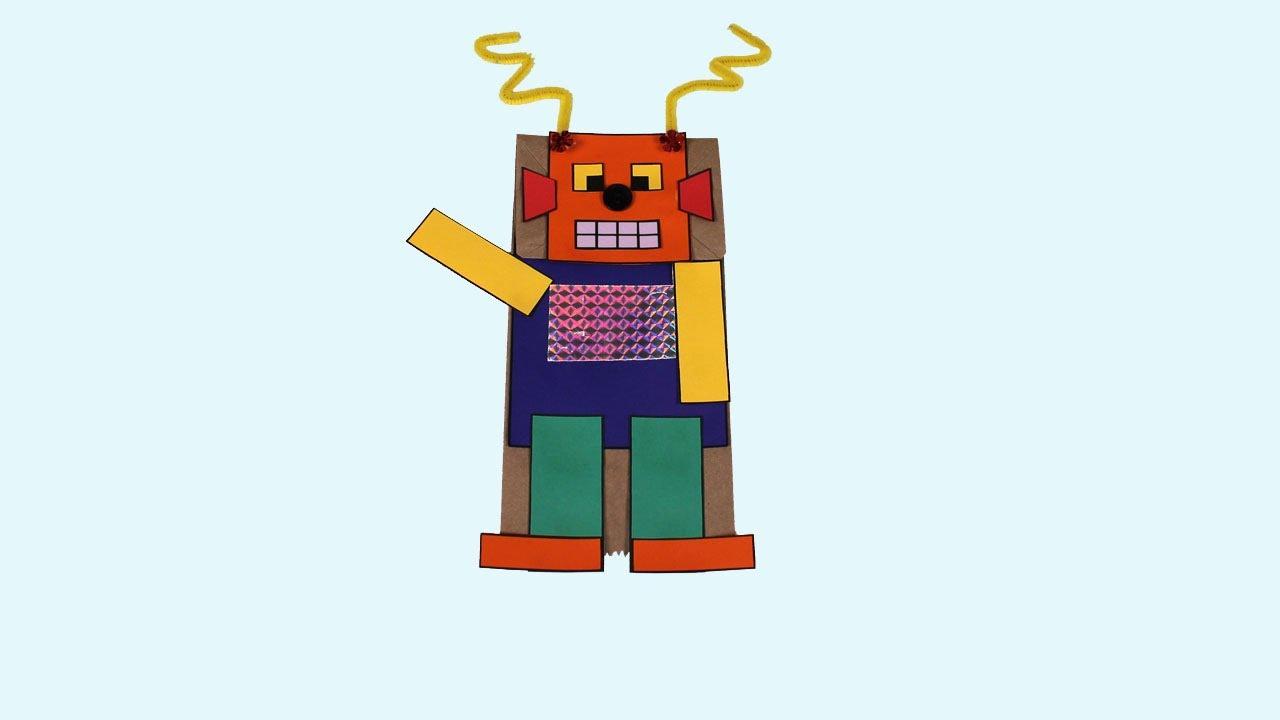Robot Kids School Project
