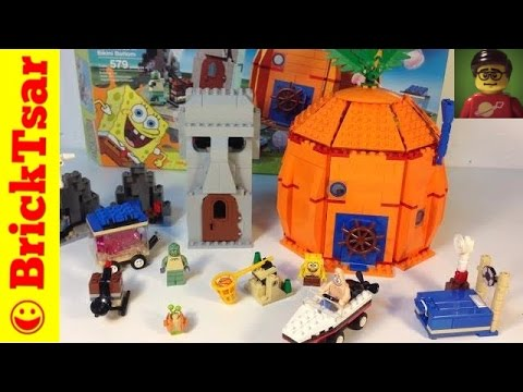 LEGO Spongebob Squarepants 3827 Adventures in Bikini Bottom Nickelodeon