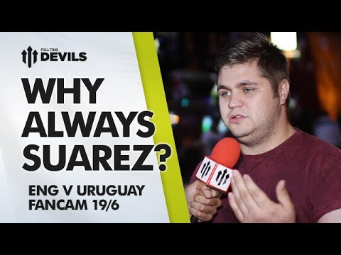 Why Always Suarez? | England 1 Uruguay 2 | World Cup Brazil 2014