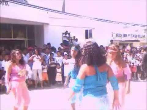 BAILE SEXI DE CHICAS DEL CBTA 151.CRUZ GRANDE, GUERRERO