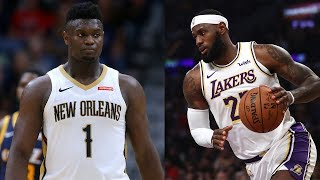 Zion Williamson will be THE BEST rookie in NBA History