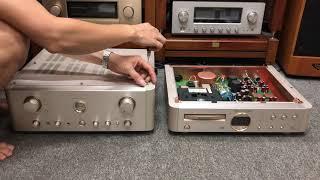 Combo amply Marantz PM14, đầu Marantz SA14 cao cấp phối ghép đa dạng và đôi lời chia sẻ với anh em