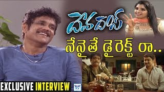 Nagarjuna Interview On Devadas Movie with Anchor Shyamala | Nani | Rashmika | Akanksha | Myra Media