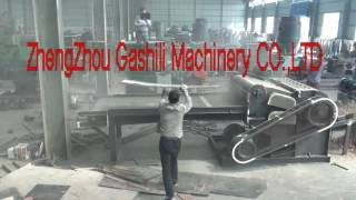 waste wood pallet crusher