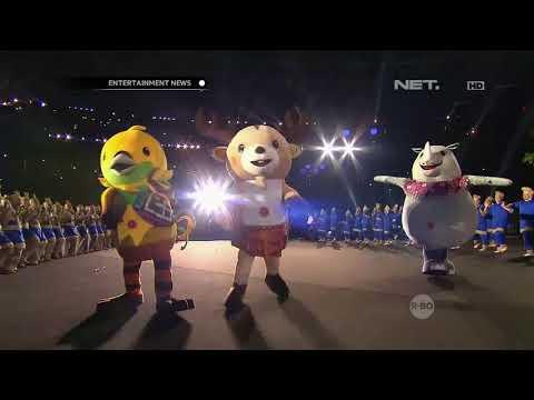Cuplikan Kemeriahan Opening Ceremony Asian Games 2018